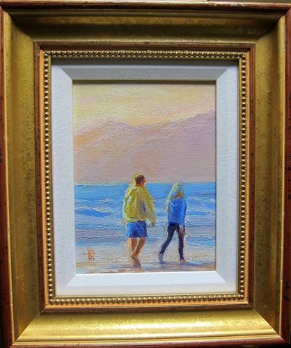 """Glow"" original fine art by Kathy Bodamer"
