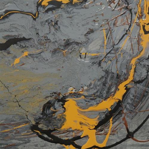 """""""2 - Primordial energy"""" original fine art by Olga Touboltseva-Lefort"""