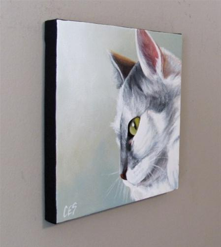 """A Touch of Grey"" original fine art by ~ces~ Christine E. S. Code"