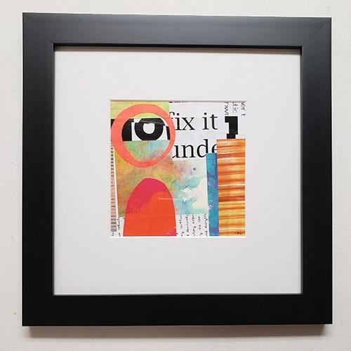 """Neon Sunrise"" original fine art by Carol Marine"