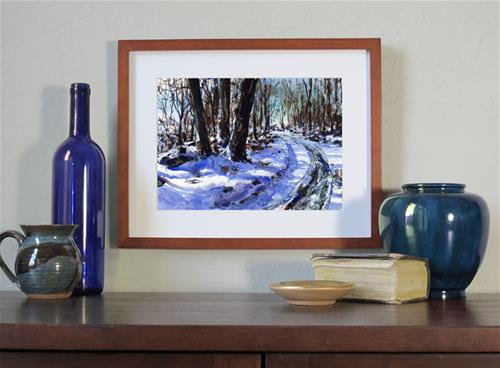 """Country Roads"" original fine art by Linda Henry"