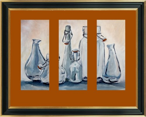"""1995 Glass Theatre 3"" original fine art by Dietmar Stiller"