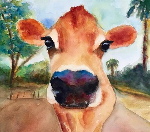 """Elberta"" original fine art by Melissa Gresham"