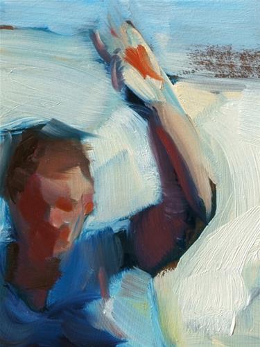 """""""Hoopla"""" original fine art by John Larriva"""