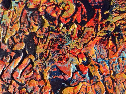"""Every Color"" original fine art by Nancy Eckels"