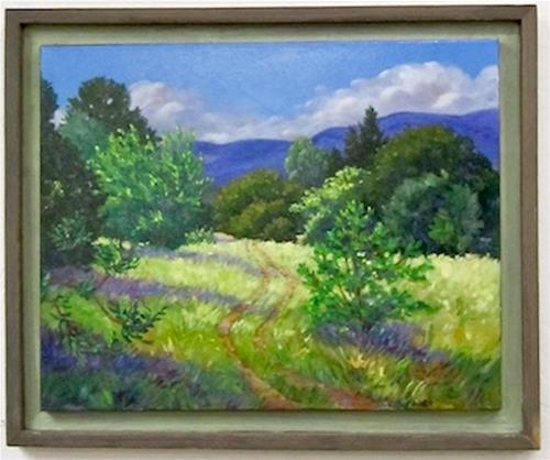 """Late Spring at the Annex"" original fine art by Patricia Musgrave"