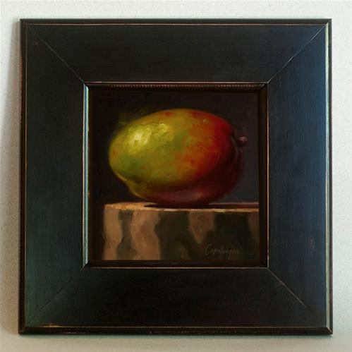 """Mango On Sycamore"" original fine art by David Capalungan"