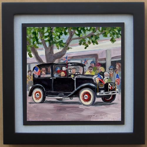 """In the Parade"" original fine art by Rhett Regina Owings"