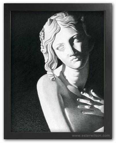 """Angel"" original fine art by Ester Wilson"
