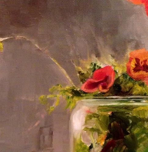 """Happy Gardening"" original fine art by ~ces~ Christine E. S. Code"