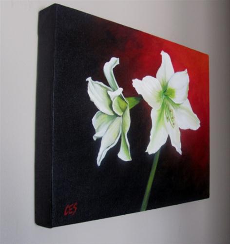 """""""Amaryllis"""" original fine art by ~ces~ Christine E. S. Code"""