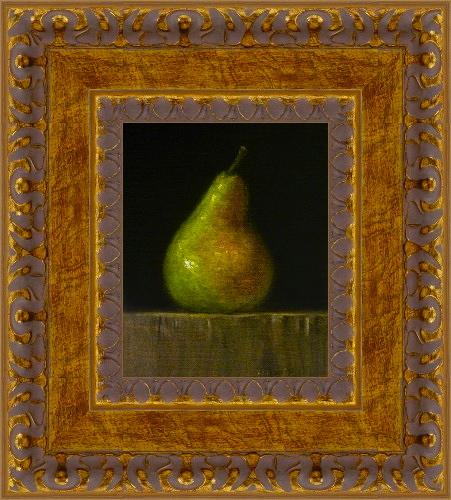 """""""Bosc Pear"""" original fine art by MeeLi Lee"""