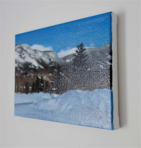 """White Mountains, Lincoln, NH (no.117)"" original fine art by Michael William"