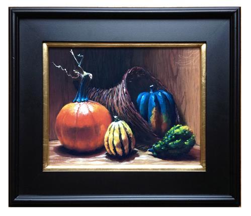 """Cornucopia"" original fine art by Pamela Hamilton"