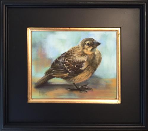 """Fledgling"" original fine art by Pamela Hamilton"