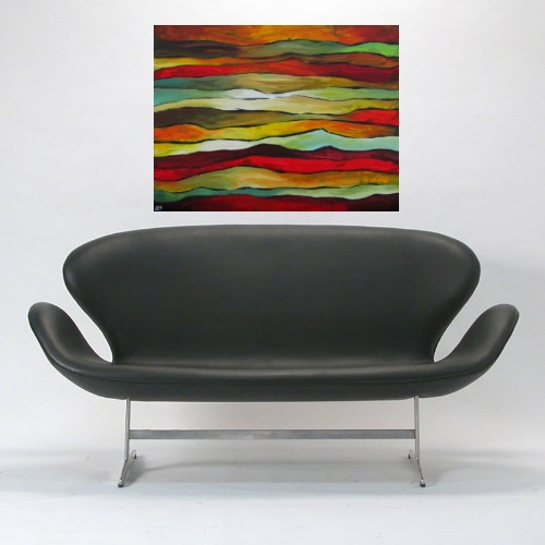 """""""Shreds"""" original fine art by ~ces~ Christine E. S. Code"""