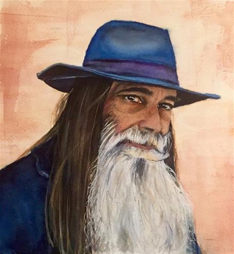 """""""Tobias"""" original fine art by Melissa Gresham"""