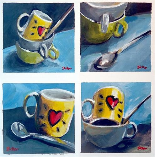 """1817 La Tasse 4"" original fine art by Dietmar Stiller"