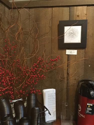 """6056 - Dandelion Clock"" original fine art by Sea Dean"