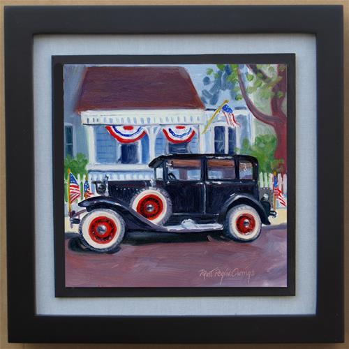 """""""American Pride"""" original fine art by Rhett Regina Owings"""