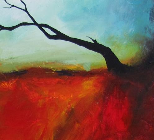 """What Lies Beneath"" original fine art by ~ces~ Christine E. S. Code"