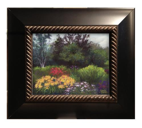 """Holmstad Gardens"" original fine art by Pamela Hamilton"