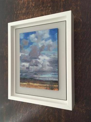 """Big Sky, Mud Bay"" original fine art by Nicoletta Baumeister"