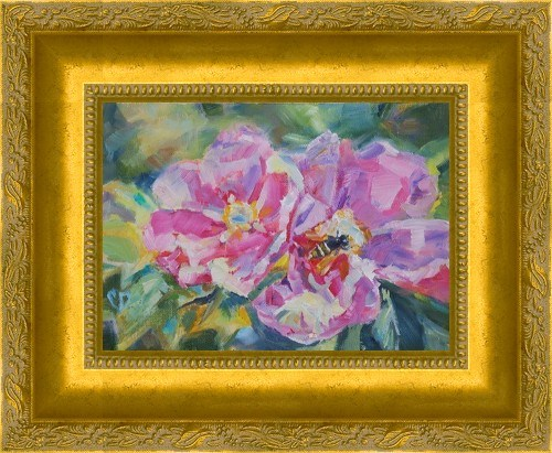 """Fragrant Beauty"" original fine art by Carol DeMumbrum"