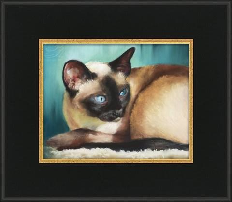 """Percy II"" original fine art by Pamela Hamilton"