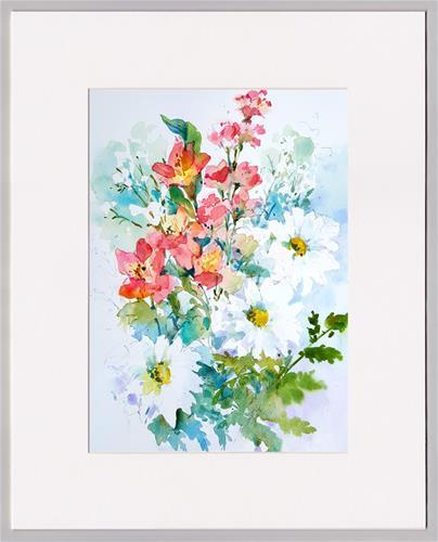 """""""Oh My Darlings"""" original fine art by Linda Henry"""