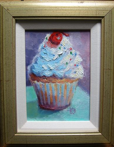 """Frosted"" original fine art by Kathy Bodamer"