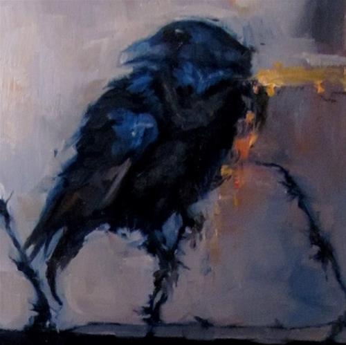 """The Guard"" original fine art by ~ces~ Christine E. S. Code"