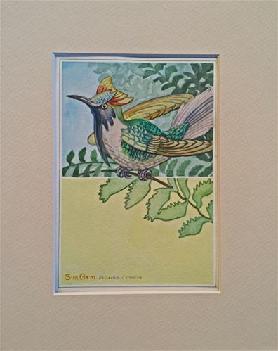 """Amazing World"" original fine art by Beatrix Pearl"