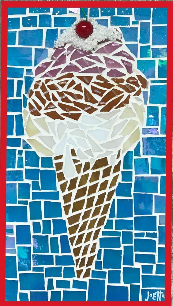 """Neapolitan"" original fine art by Joetta Currie"