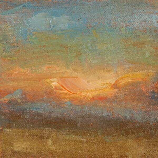 """Storm Clouds"" original fine art by Scott Serafica"