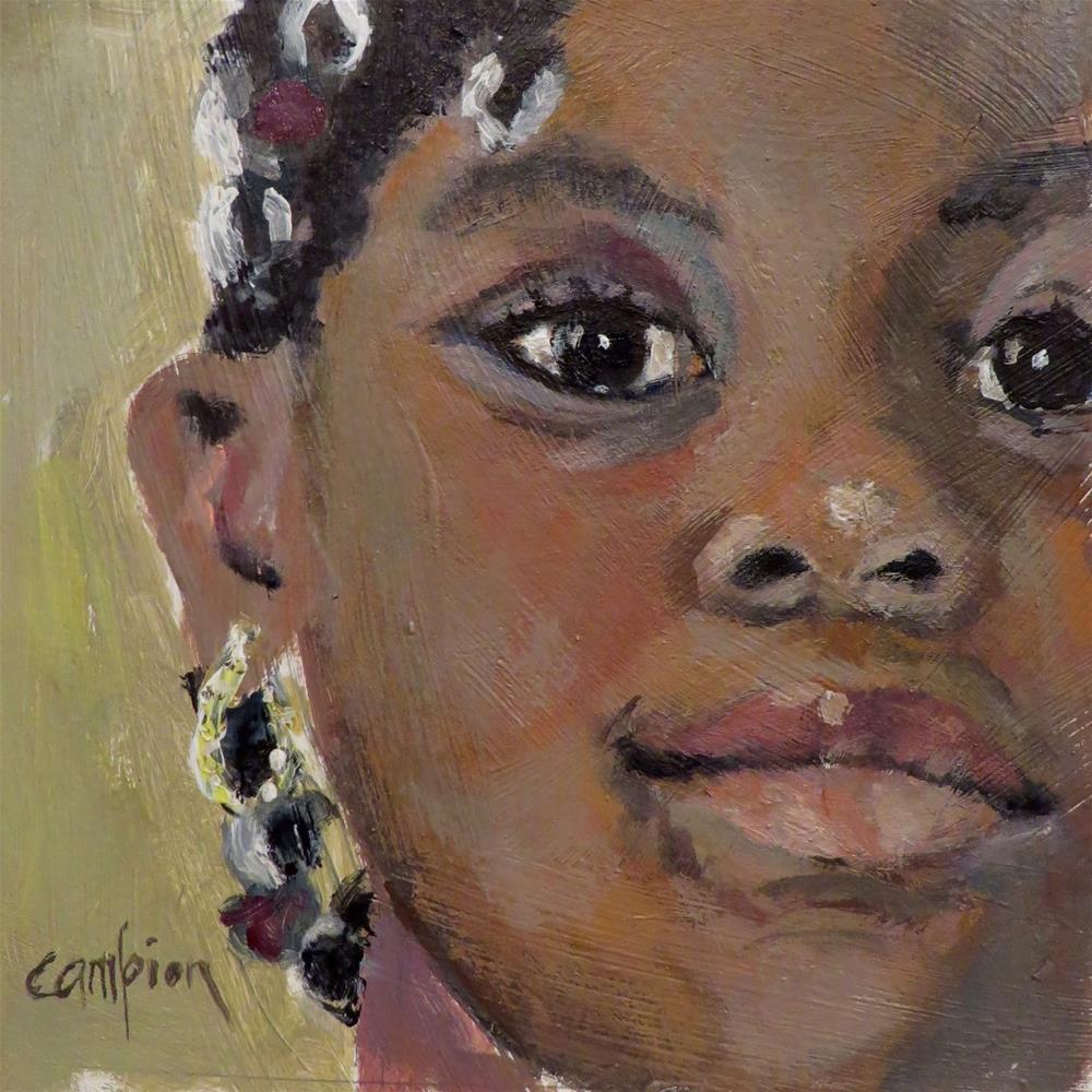 """745 Helpful"" original fine art by Diane Campion"