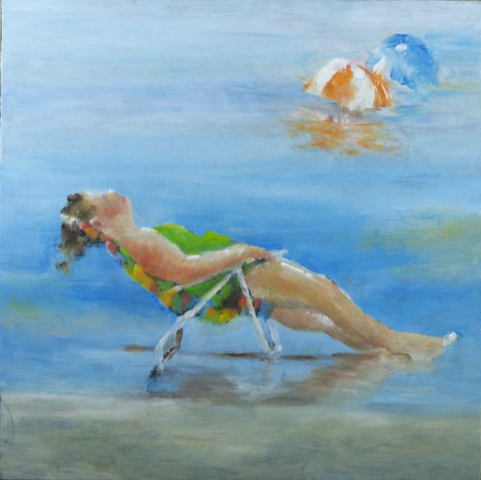 """""""AHHHH"""" original fine art by Sue Churchgrant"""