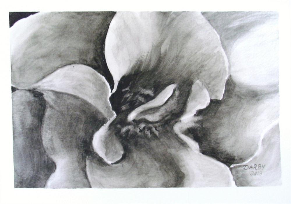 """Black & White"" original fine art by Lynn Darby"