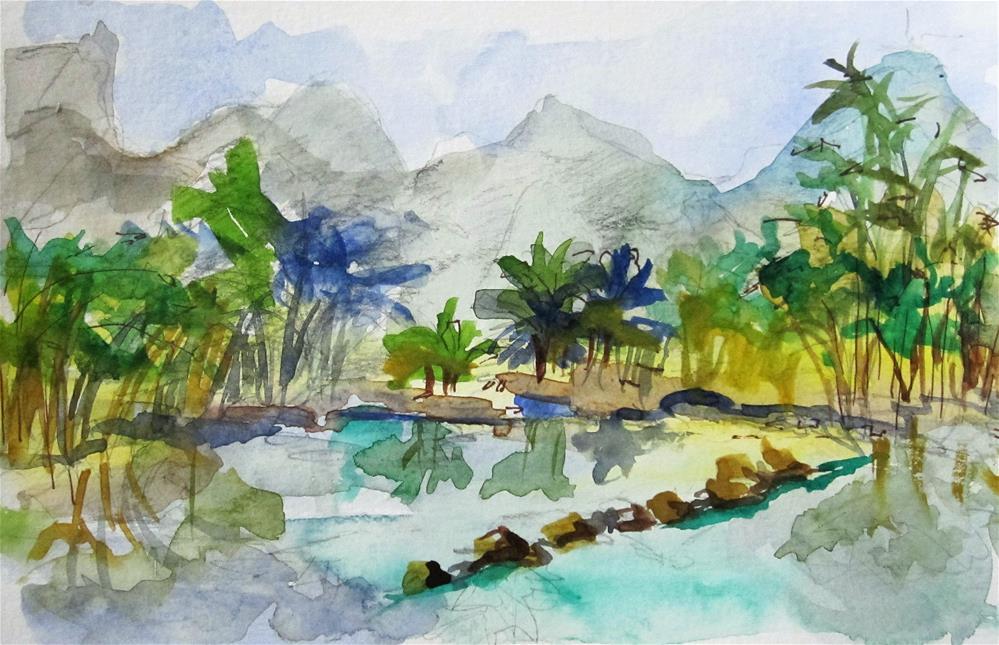 """China No. 2"" original fine art by Delilah Smith"