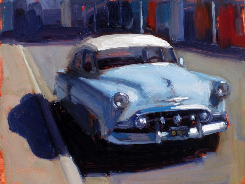 """""""big blue"""" original fine art by Dan Graziano"""