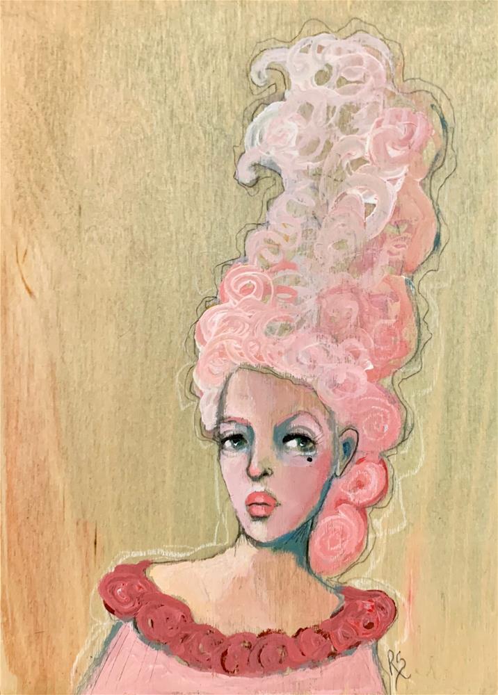 """""""Pink"""" original fine art by Roberta Schmidt ArtcyLucy"""