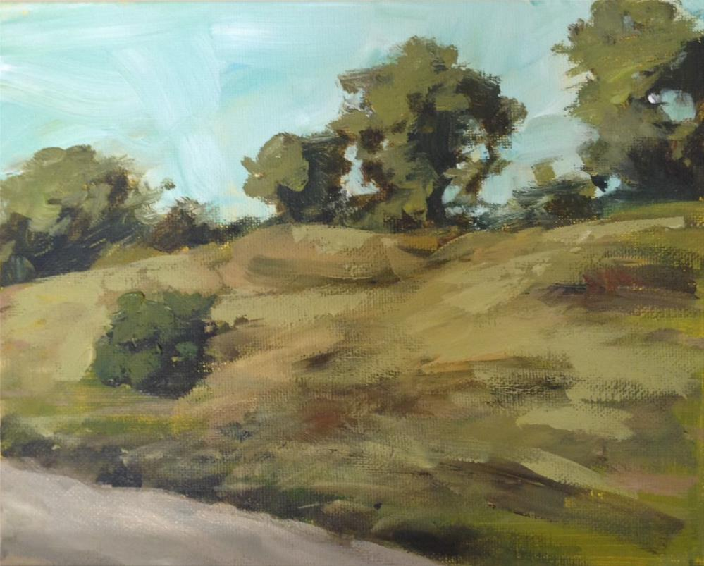 """Rushing"" original fine art by Shannon Bauer"