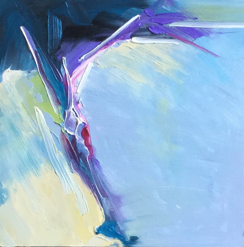 """""""Abstract 85"""" original fine art by Charlotte Fitzgerald"""