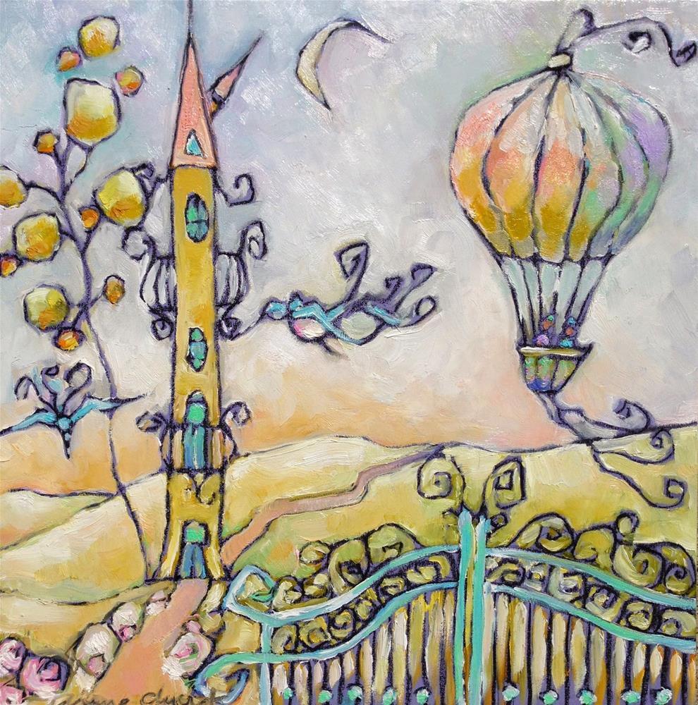 """Hidden Valley"" original fine art by Anne Ducrot"