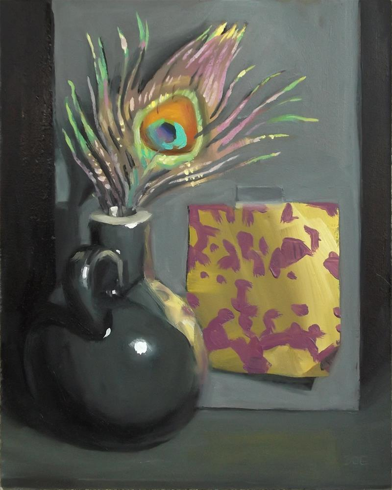 """""""Gilded"""" original fine art by Karen Boe"""