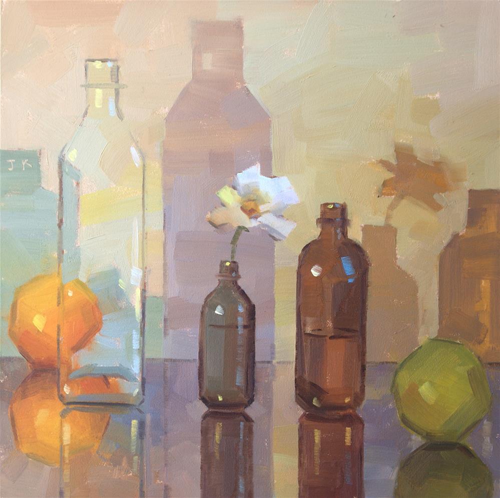 """Spring"" original fine art by Jiyoung Kim"