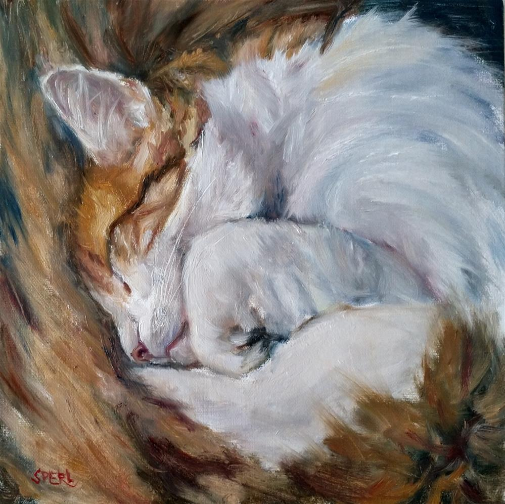 """Sheltering in Place"" original fine art by Cheri Sperl"