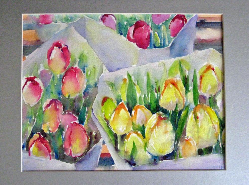 """""""Turips  --2"""" original fine art by Wenqing Xu"""