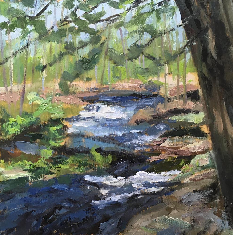 """Emerging Spring"" original fine art by Shari Goddard Shambaugh"