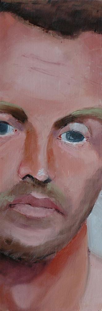 """RESIGNATION and SADNESS"" original fine art by Linda Popple"